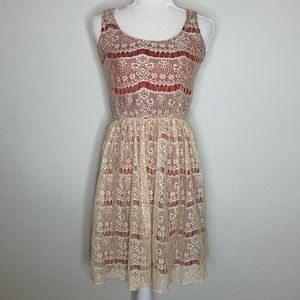 Maurice's Crochet Fit & Flare Dress